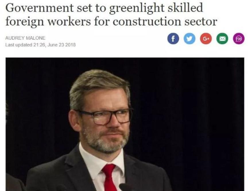 """今天,政府宣布了一项重要移民政策!""""蓝翔技工""""将成新西兰热门人才!"""