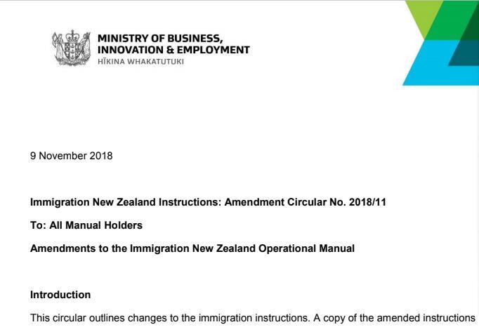 新西兰移民局又作妖了......这个周末还能愉快吗?