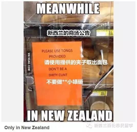 史上心最大的国家:那些年只发生在新西兰的不靠谱事儿。。。