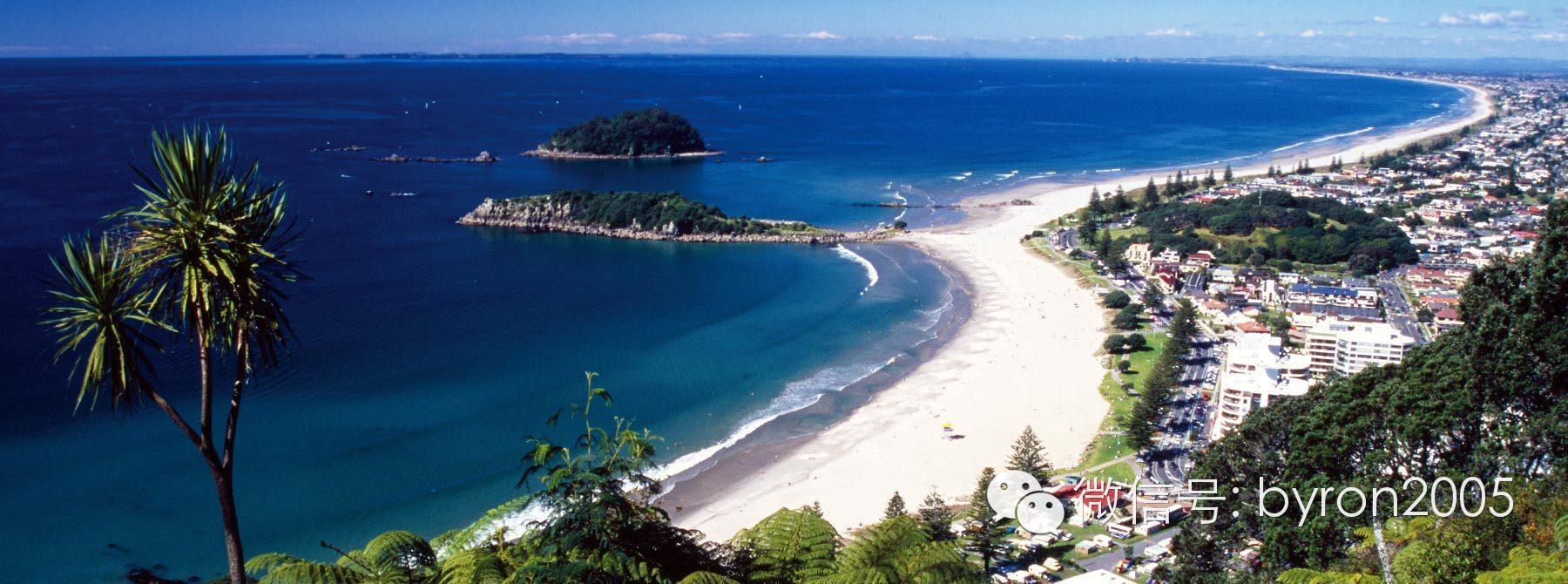 新西兰的黄金海岸、加州 - 陶朗加