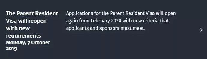 【一文搞定你所有的困惑】父母团聚移民开放政策问答!